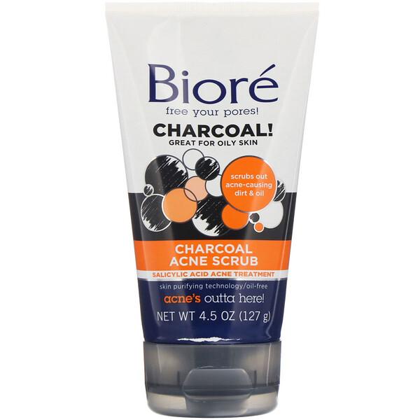 Charcoal Acne Scrub, 4.5 oz (127 g)