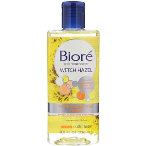 Biore, Pore Clarifying Toner, Witch Hazel, 8 fl oz (236 ml) отзывы покупателей