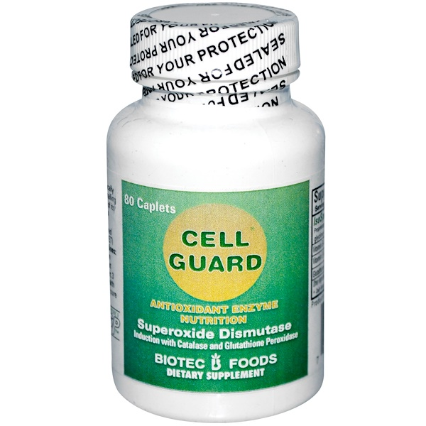 Biotec Foods, Cell Guard, 80 Caplets (Discontinued Item)