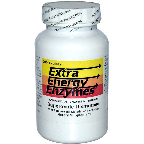Biotec Foods, Extra Energy Enzymes, 200 Tablets (Discontinued Item)