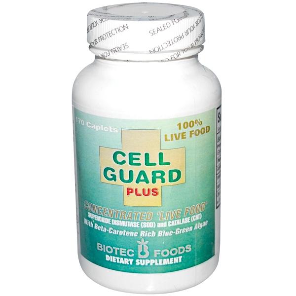 Biotec Foods, Cell Guard Plus, 170 Caplets (Discontinued Item)