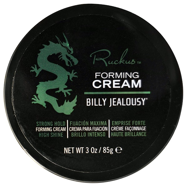 Billy Jealousy, Ruckus, Forming Cream, 3 oz (85 g) (Discontinued Item)