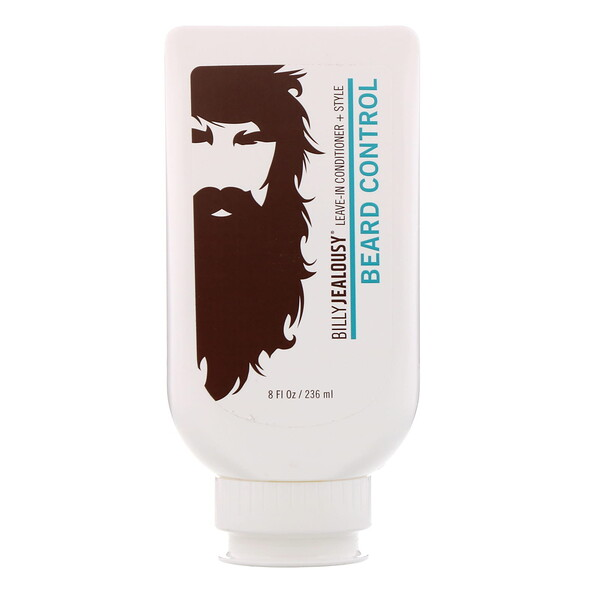 Billy Jealousy, Beard Control, Condicionador leave-in + pentear, 236 ml