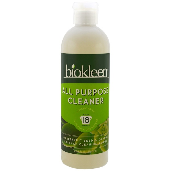 Bio Kleen, All Purpose Cleaner、Grapefruit Seed & Orange、16 fl oz (437 ml) (Discontinued Item)