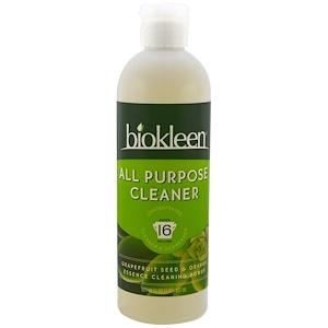 Bio Kleen, Универсальное чистящее средство, косточки грейпфрута и апельсина, 16 жидк. унц. (437 мл)