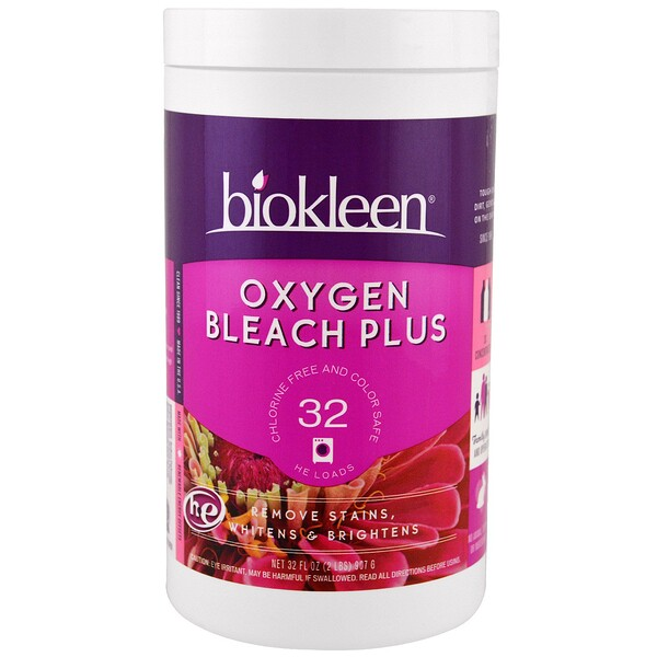 Bio Kleen, Oxygen Bleach Plus, 32 oz (907 g)