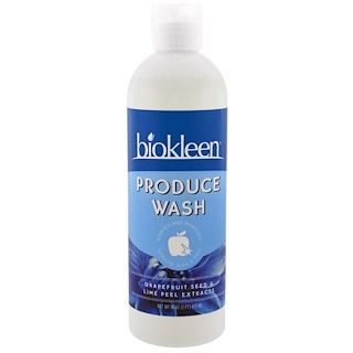 Bio Kleen, Produce Wash, Grapefruit Seed & Lime Peel Extracts, 16 fl oz (473 ml)