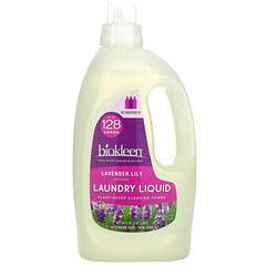 Bio Kleen, 洗衣液,薰衣花草百合精华,64 液量盎司(1.89 升)