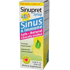 Bionorica, 시누프릿 어린이 시럽, 3.38 fl oz (100 ml)