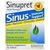 Bionorica, Sinupret, Sinus + Immune Support, Adult Strength, 25 Tablets
