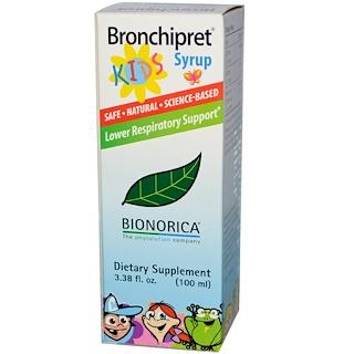 Bionorica, ブロンチプレット・キッズシロップ, 3.38 オンス (100 ml)
