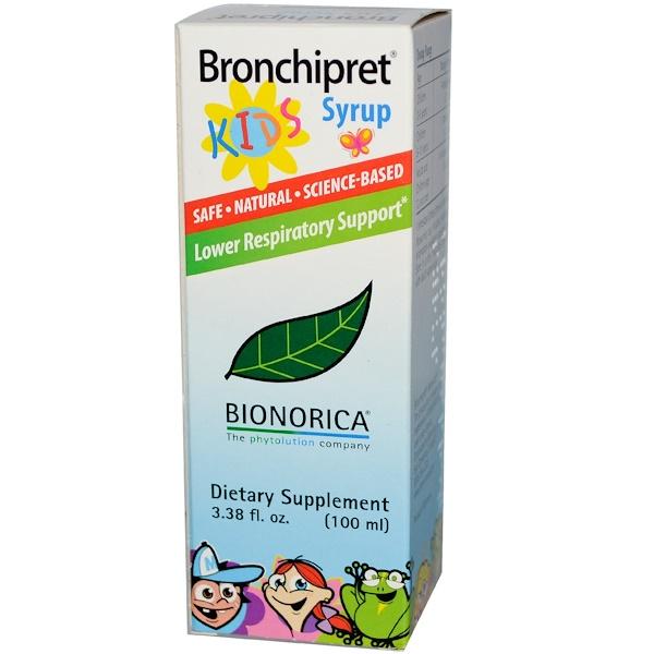 Bionorica, Bronchipret Kids Syrup, 3.38 fl oz (100 ml) (Discontinued Item)