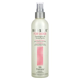 Biosilk, Silk Therapy, Detangling & Shine Spray for Dogs, 8 fl oz (237 ml)