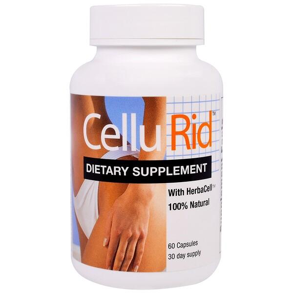 CelluRid, Cellulite Control System, 60 Capsules