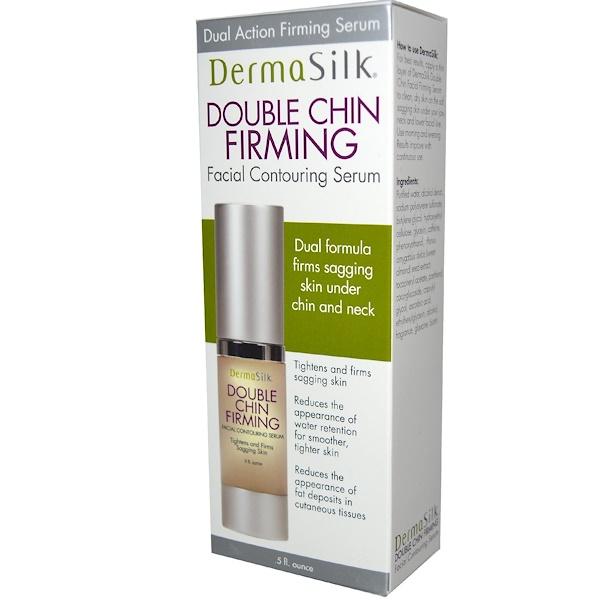 BioTech, DermaSilk, Double Chin Firming, Facial Contouring Serum, .5 fl oz (Discontinued Item)