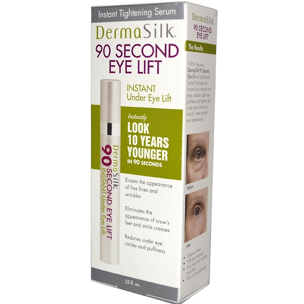 BioTech, DermaSilk, 90 Second Eye Lift, .25 fl oz (Discontinued Item)