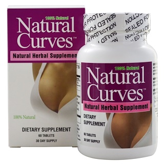 BioTech, Natural Curves, 60 Tablets