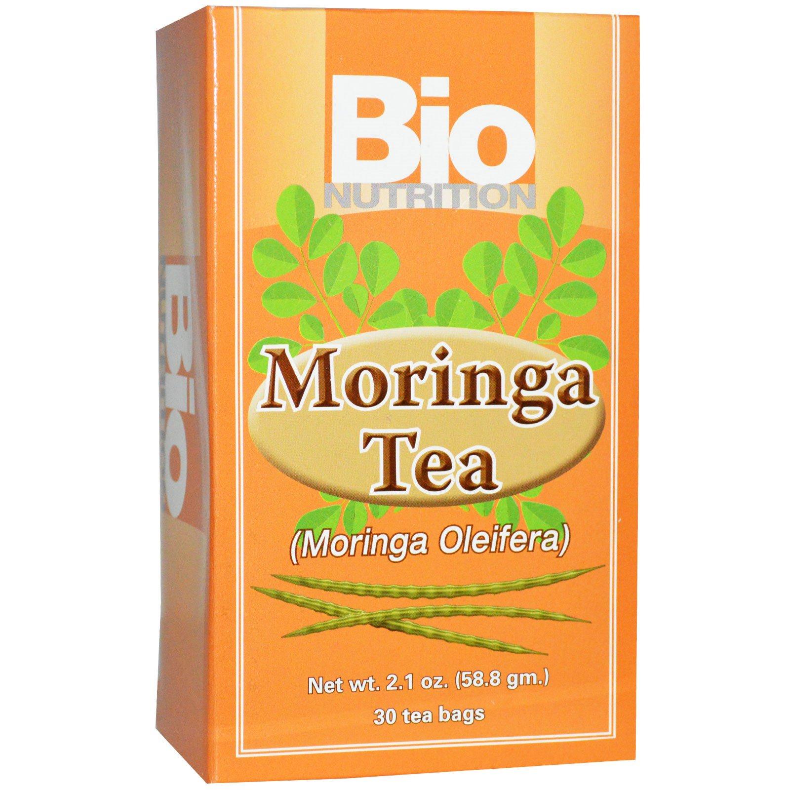 Bio Nutrition, Чай с морингой, 30 чайных пакетиков, 2,1 унции (58,8 г)