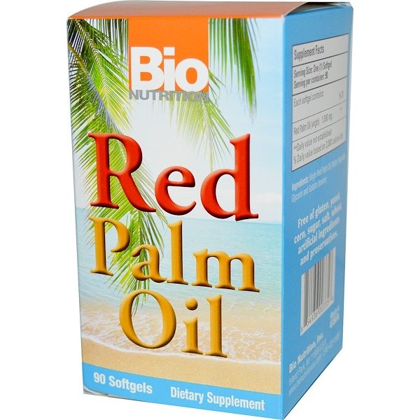 Bio Nutrition, Red Palm Oil, 90 Softgels (Discontinued Item)