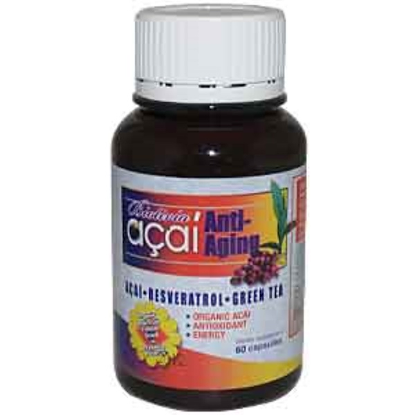 Biotivia, Acai Anti Aging, 60 Capsules (Discontinued Item)