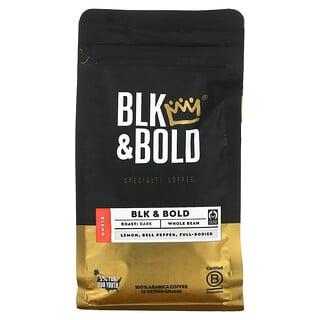 BLK & Bold, Specialty Coffee, Whole Bean, Dark, BLK & Bold, 12 oz (340 g)