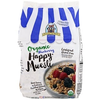 Bakery On Main, Organic, Happy Muesli, Blueberry, 14 oz (397 g)