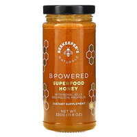 Beekeeper's Naturals, B.Powered SUPER FOOD 蜂蜜,11.6 盎司(330 克)
