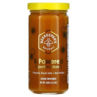 Beekeeper's Naturals, B. Powered, Superfood Honey, 11.6 oz (330 g)