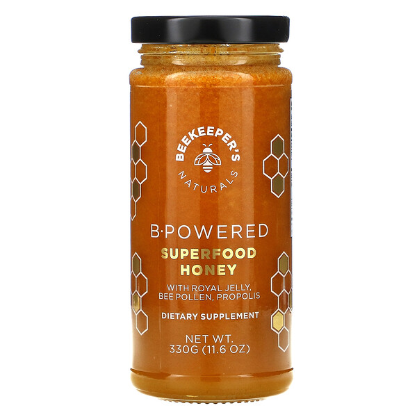 B. Powered Superfood Honey, 11.6 oz (330 g)
