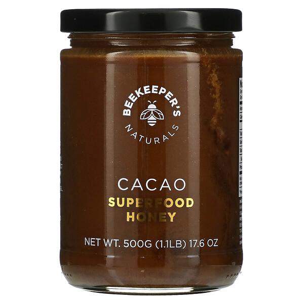 Superfood Honey, Cacao, 17.6 oz (500 g)