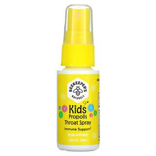 Beekeeper's Naturals, Kids, Propolis Throat Spray, 1.06 fl oz (30 ml)