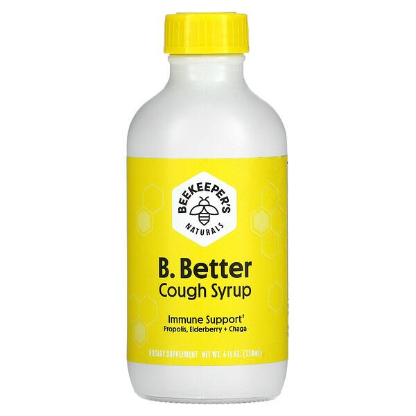 B. Better, Cough Syrup, 4 fl oz (118 ml)