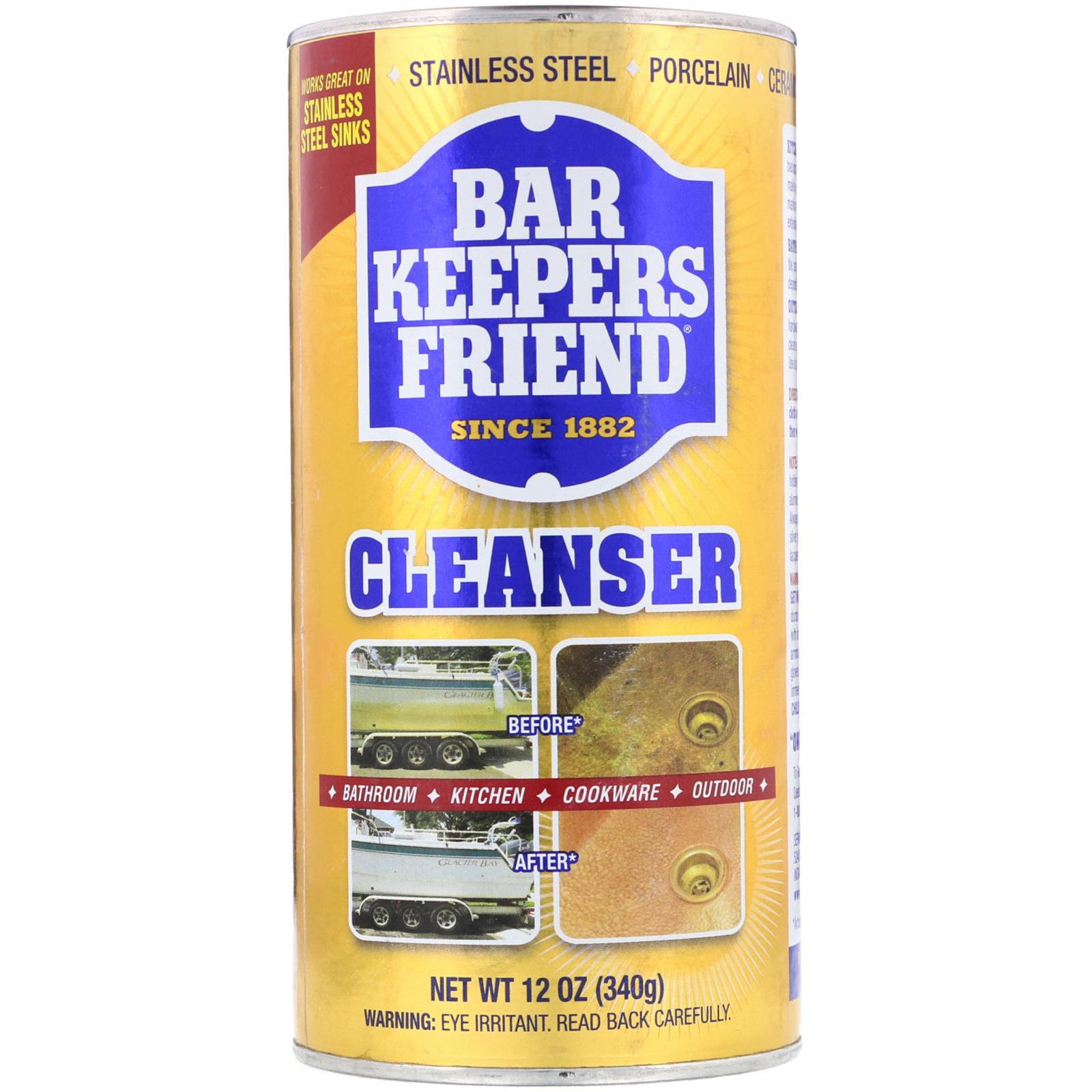 Bar Keepers Friend Cleanser 12 Oz