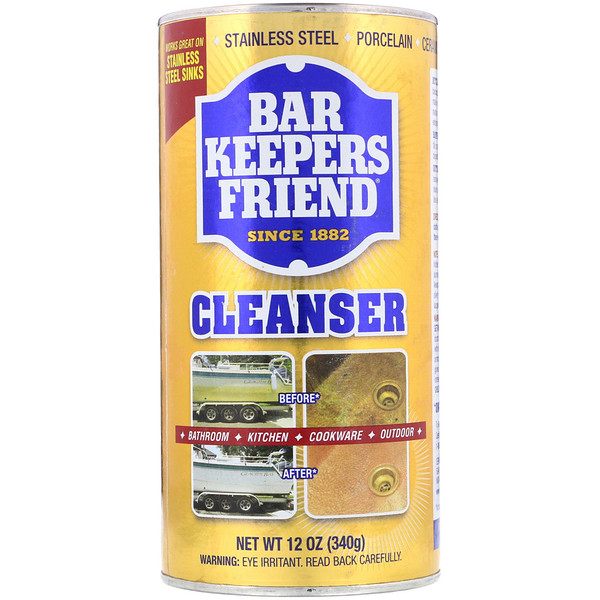 Bar Keepers Friend, منظف، 12 أوقية (340 غرام) (Discontinued Item)
