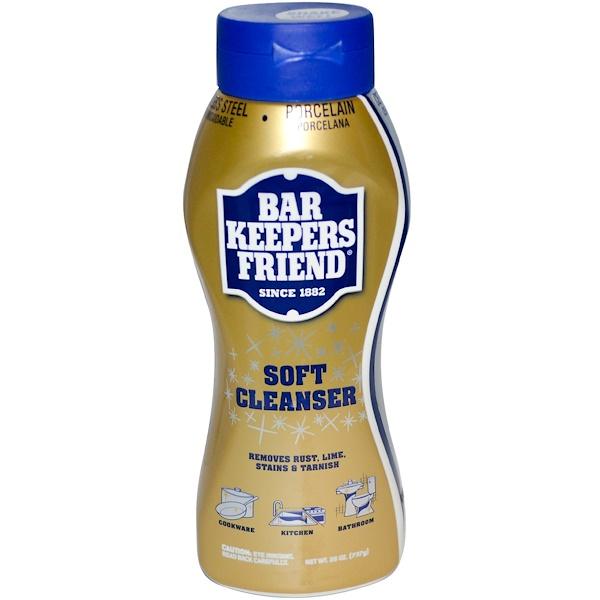 Bar Keepers Friend, Мягкое очищающее средство, 26 унций (737 г) (Discontinued Item)