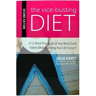 Books, ヴァイスバスティング・ダイエット、第2版、ジュリア・ハーヴェイ著、222ページ、文庫本