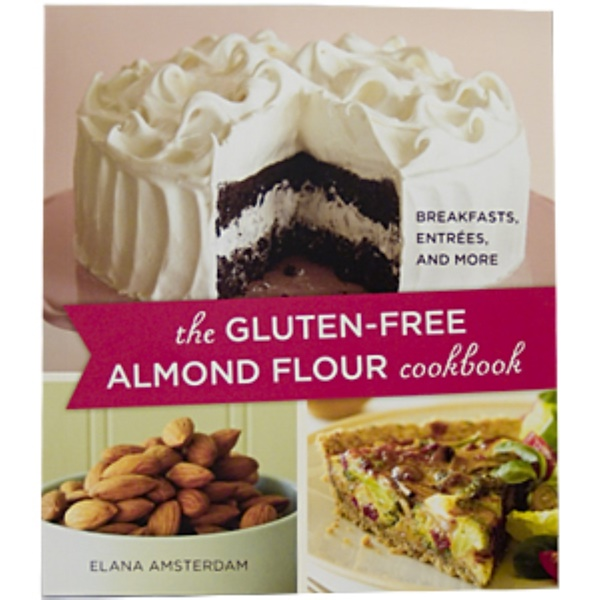 Books, The Gluten-Free Almond Flour Cookbook, 136 Page Paper-Back Book  (Discontinued Item)