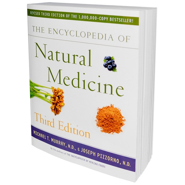 Books, The Encyclopedia of Natural Medicine, Third Edition, 1219 Pages, Paperback Book  (Discontinued Item)
