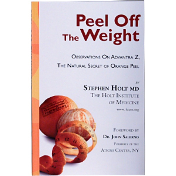 Books, Peel Off the Weight, by Stephen Holt MD, 112 Page Paper-Back Book (Discontinued Item)