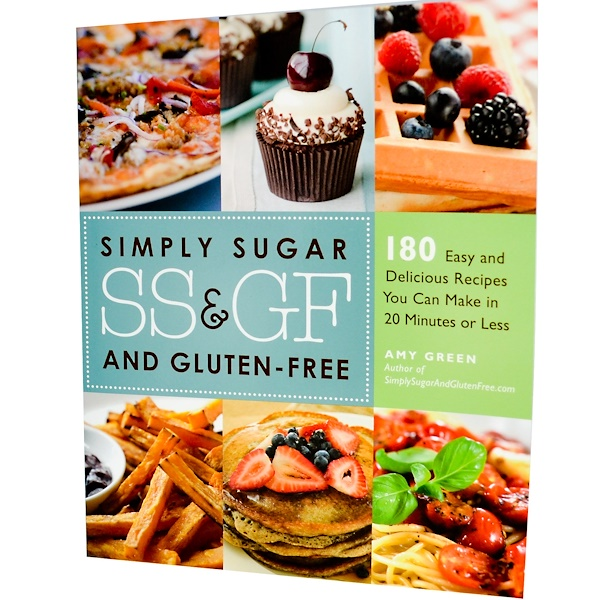 Books, Book, Simply Sugar and Gluten-Free, By Amy Green, 234 Page Paper-Back Book (Discontinued Item)