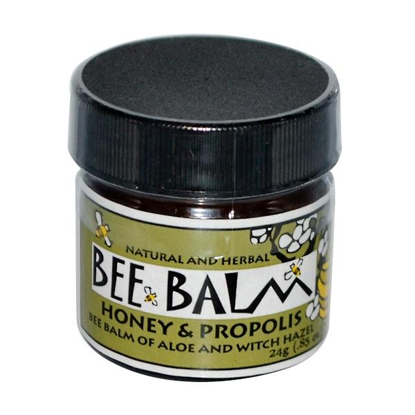 Black Hills Honey Farm, Bee Balm, Burn Ointment, Honey & Propolis, 0.85 oz (24 g) (Discontinued Item)