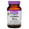 Bluebonnet Nutrition, L-цистеин, 500 мг, 60 растительных капсул