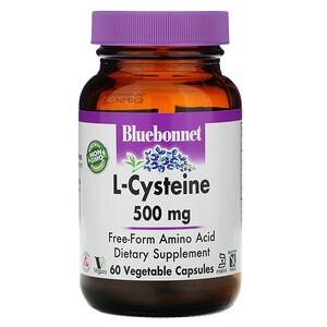 Блубоннэт Нутришен, L-Cysteine, 500 mg, 60 Veggie Capsules отзывы