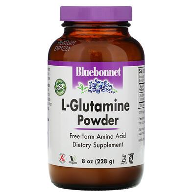 Bluebonnet Nutrition Порошок L-глютамин, 8 унций (228 г)