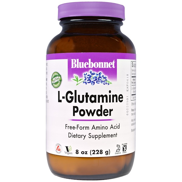 Bluebonnet Nutrition, L-Glutamine Powder, 8 oz (228 g)