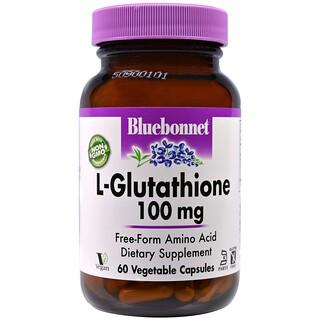 Bluebonnet Nutrition, L-Glutathione, 100 mg, 60 Veggie Caps