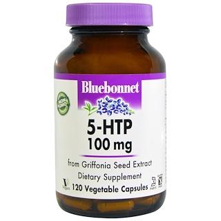Bluebonnet Nutrition, 5-HTP, 100 mg, 120 Veggie Caps