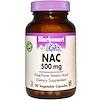 Bluebonnet Nutrition, NAC, 500 mg, 90 Vcaps