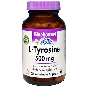 Блубоннэт Нутришен, L-Tyrosine, 500 mg, 100 Veggie Caps отзывы