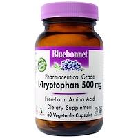 L-триптофан, 500 мг, 60 капсул в растительной оболочке - фото